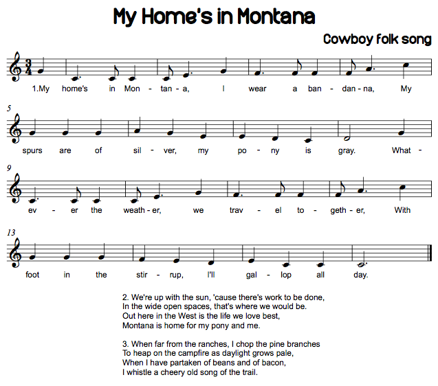 Montana State Song |