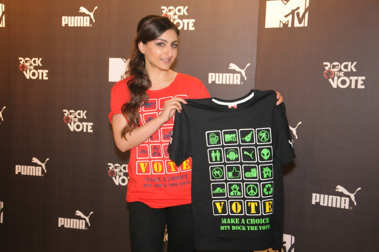 Puma And Mtv Launch Exclusive Range Of Mtv Rock The Vote T Shirts Pocket News Alert