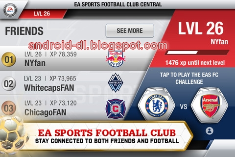 Fifa13) Fifa soccer 13 EA sports Android APK + SD data files , all ...