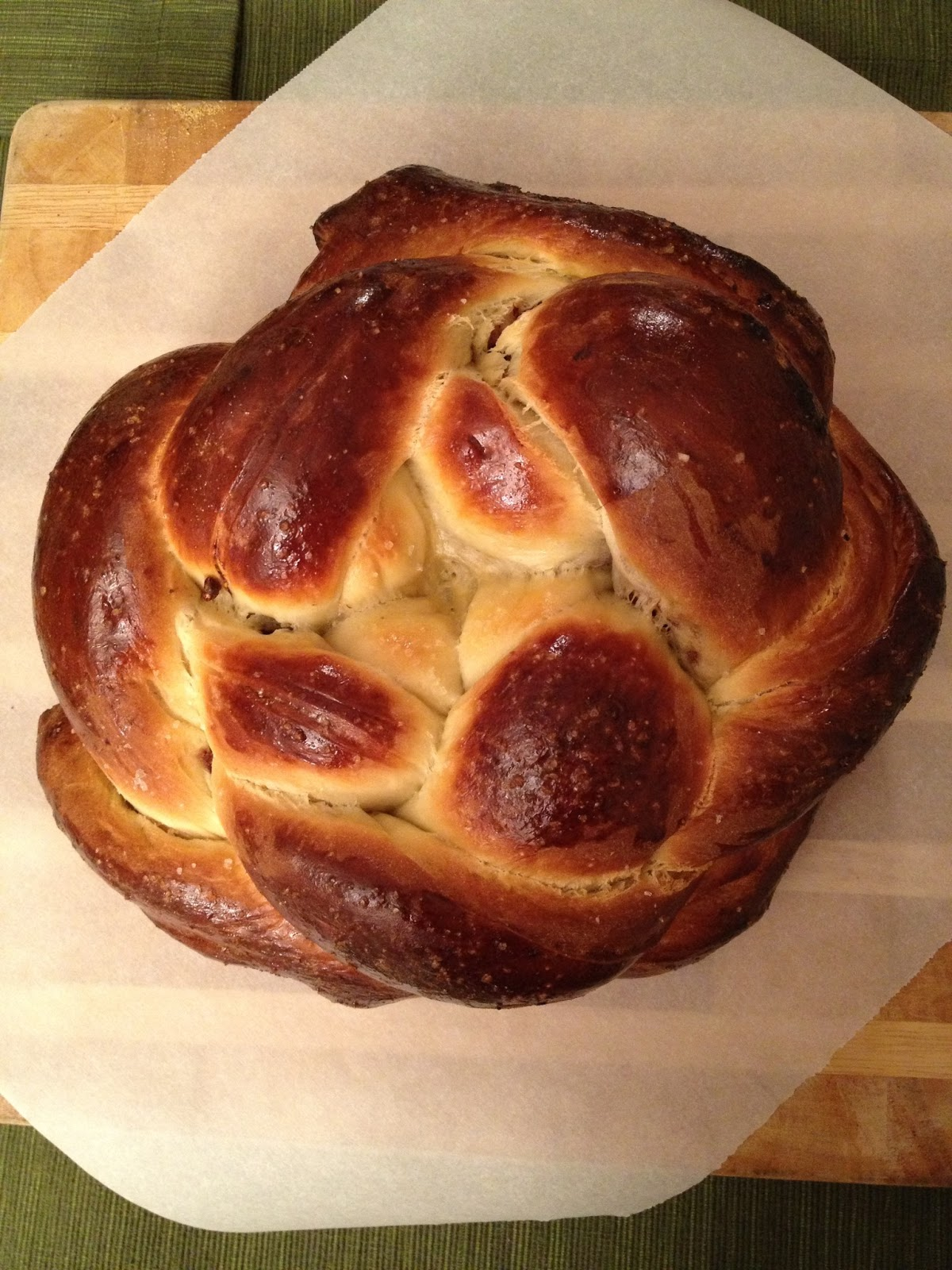 Recipe Endeavors: Fig, Olive Oil and Sea Salt Challah ...