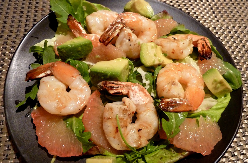 Shrimp, Avocado, And Red Pepper Salad Recipes — Dishmaps