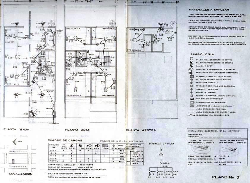Dibujo arquitect nico y de construcci n elaborac planos for Como montar un cuadro electrico
