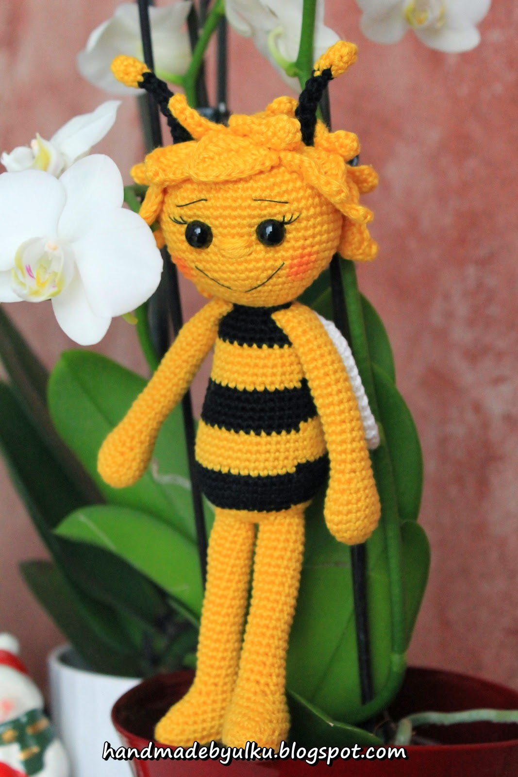 Handmade by ulku: Amigurumi Biene Maja / Maya Bee / Ari Maya
