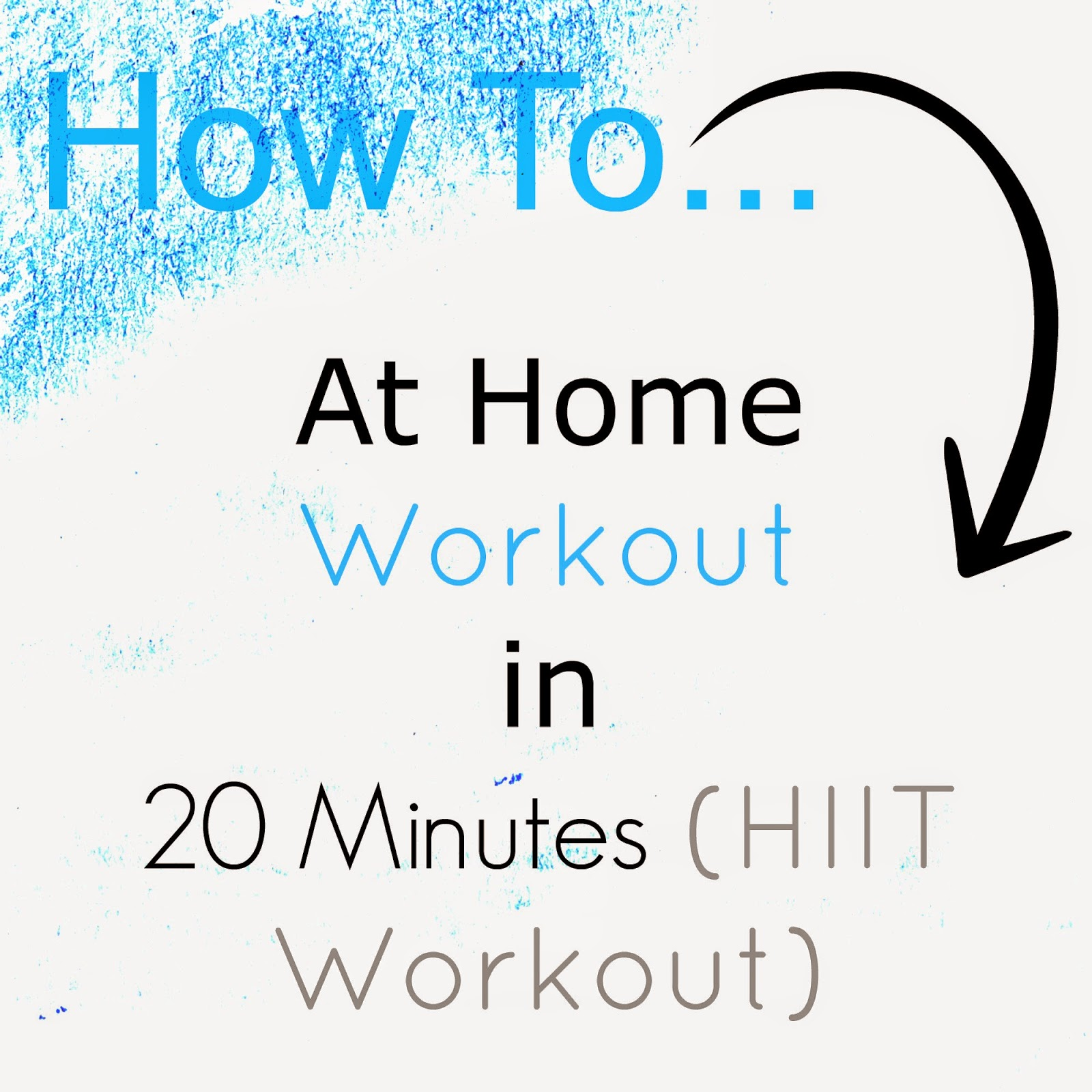 Fat Burning 20 Minute At Home Workout