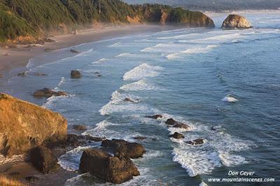 Crescent Beach from Ecola State Park, Oregon.