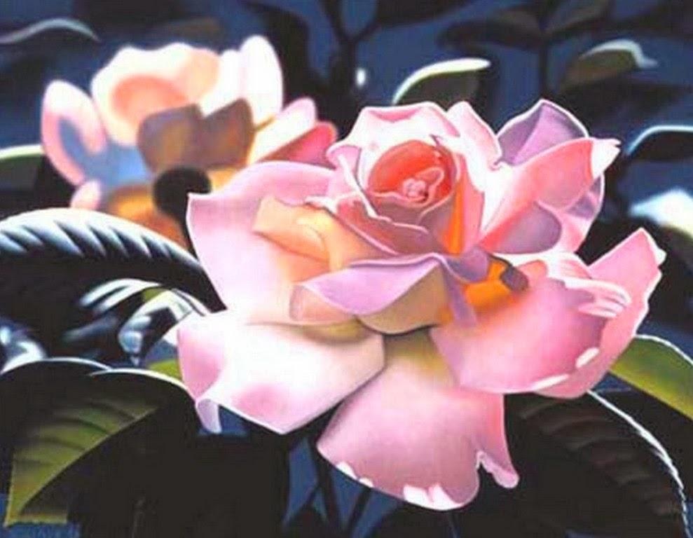 Cuadros Modernos Pinturas y Dibujos : Cuadros de Flores Grandes ...