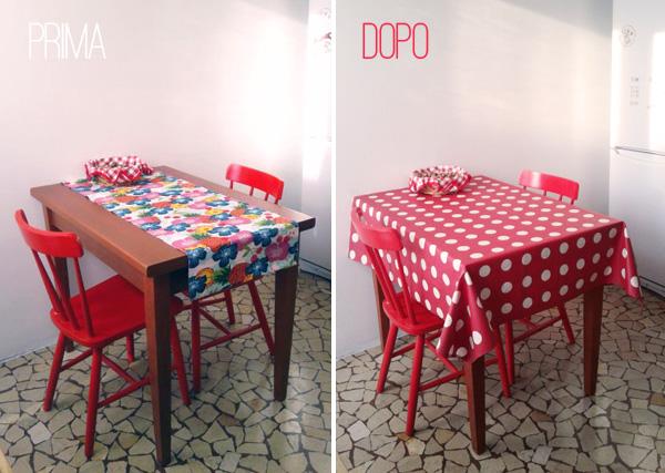 Sweet home via zara cucina tavolo e sedie prime e dopo - Ikea runner tavolo ...