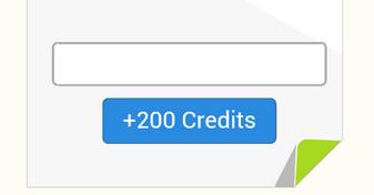 $ 200 credits