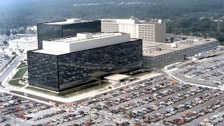 Le quartier général de la NSA, à Fort Meade, dans le Maryland (Etats-Unis)