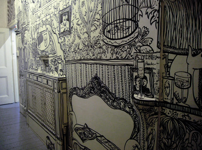 Diy Wall Art Drawing : Call me nikki march