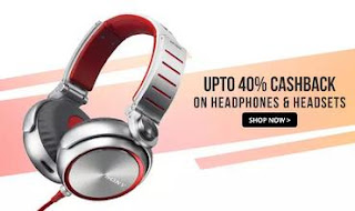 Paytm-headphones-flat-40-cashback