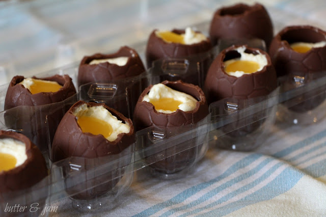butter & jam: homemade Cadbury Creme easter eggs