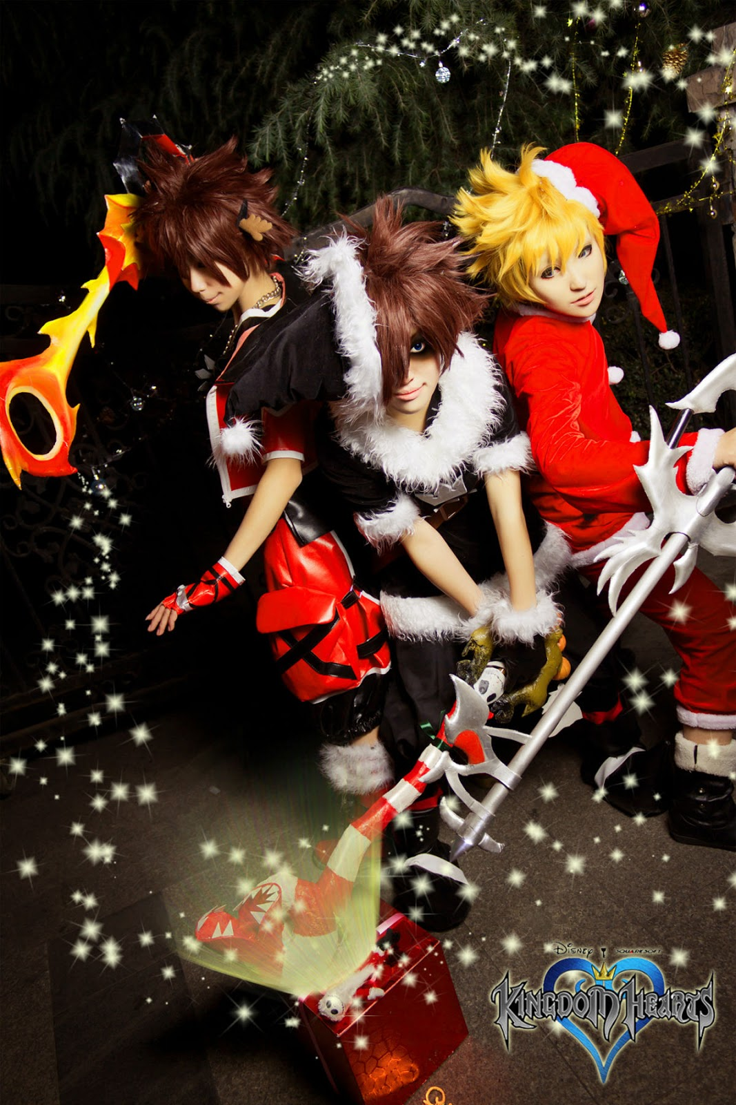 Final Fantasy Cosplay Costumes: Kingdom Hearts Cosplay for Christmas ...