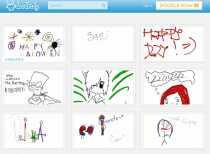 Crear doodles online Doodle.ly