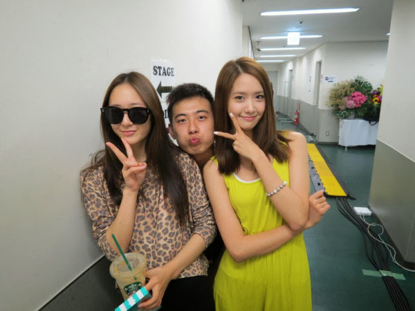 Girl's Generation: SNSD Yoona and F(x) Krystal take a ... F(x) Krystal And Yoona
