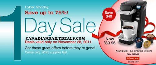 Cyber monday deals canada staples