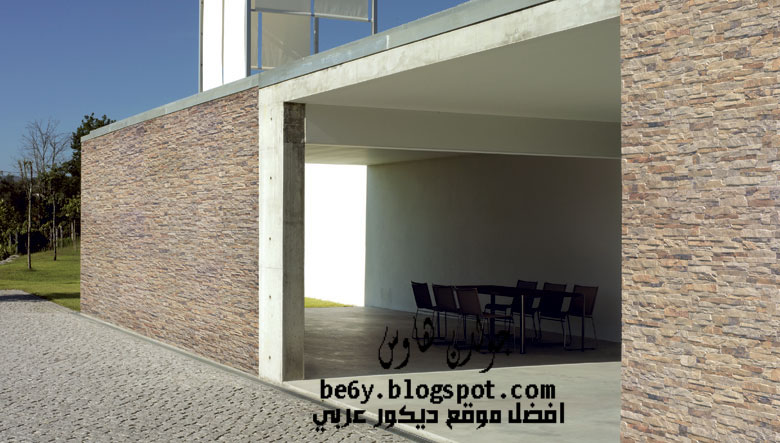 for Fachadas de casas con azulejo