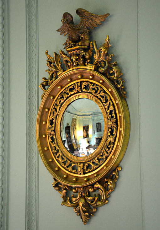 Swan House Capitol Tour, Atlanta History Center | Morning Room Mirror
