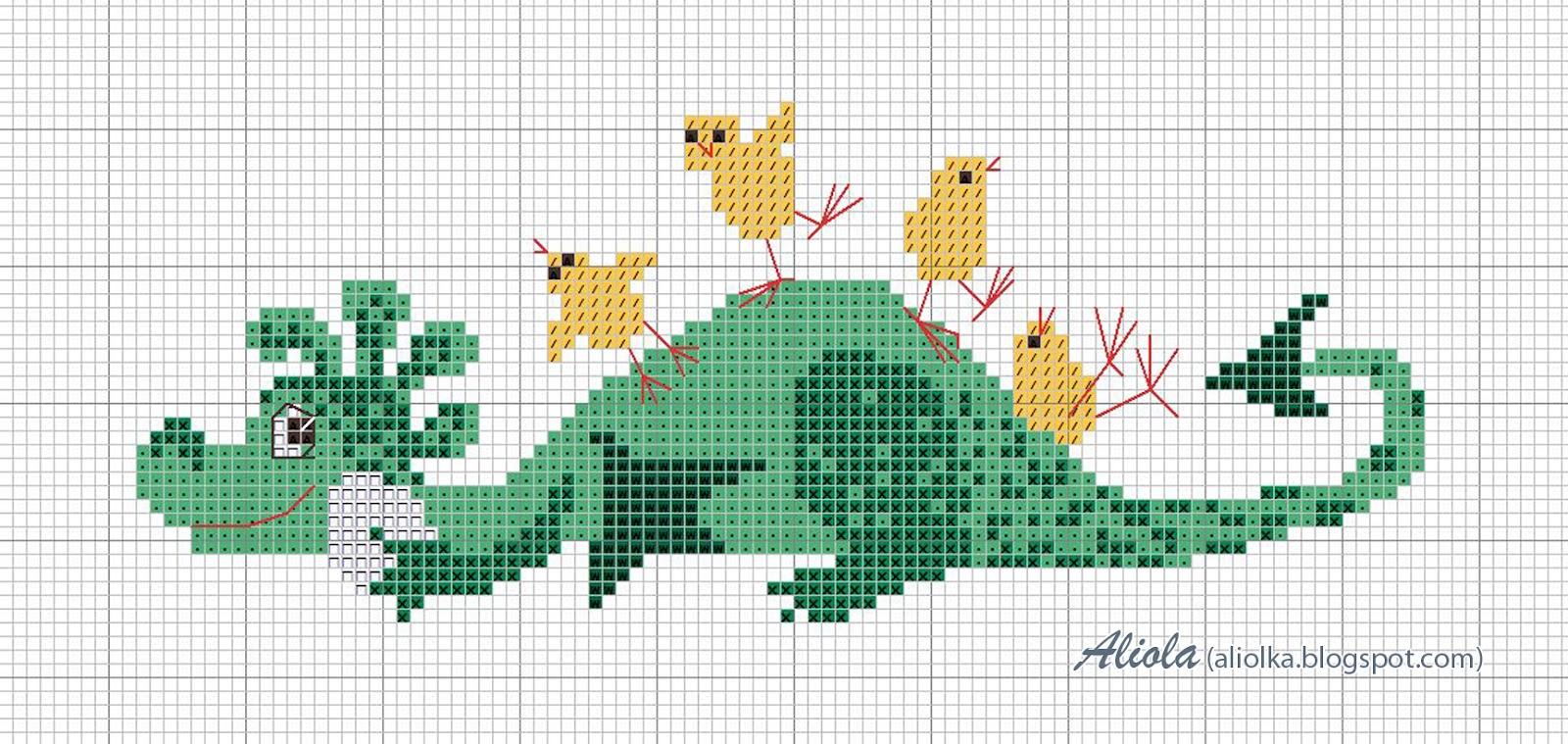 Как вышить дракона крестиком: обзор авторских схем: публикации 36