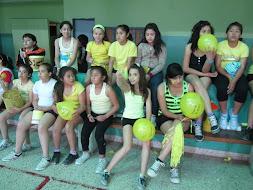 Las chicas de 6º Grado