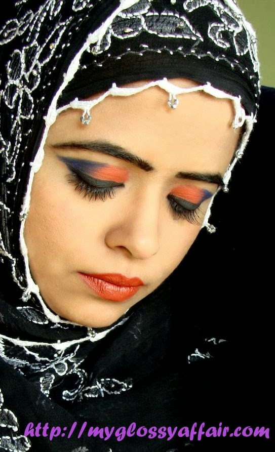Arabian Eyes and Makeup Look - FOTD