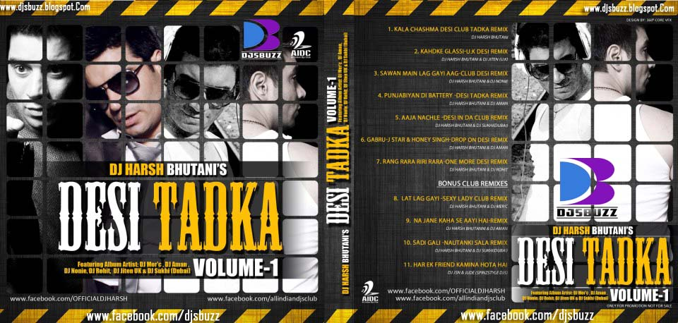 DESI TADKA VOL.2  BY DJ HARSH BHUTAN