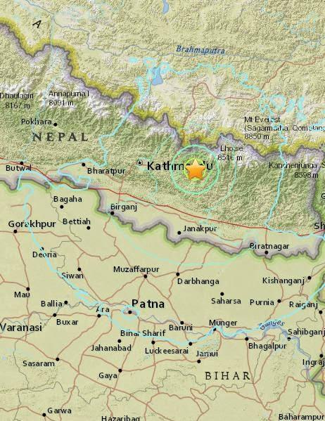 Magnitude 6.3 Earthquake of Ramechhap, Nepal 2015-05-12