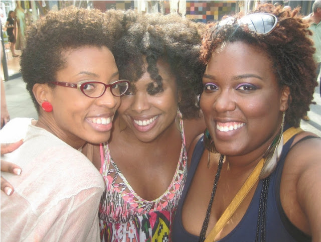 black women with natural hair in europe