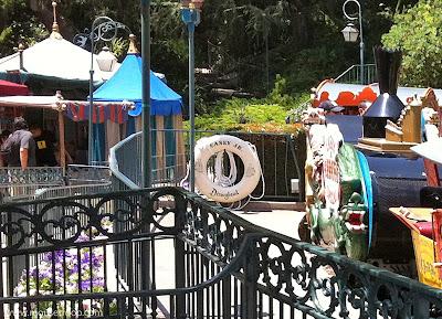 Casey Jr. Life Preservers Disneyland Fantasyland