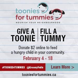 #Toonies4Tummies