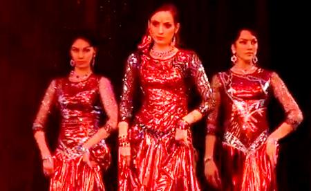 Bollywood Dance: Shakti dance, Indian Dance Group Mayuri, Petrozavodsk