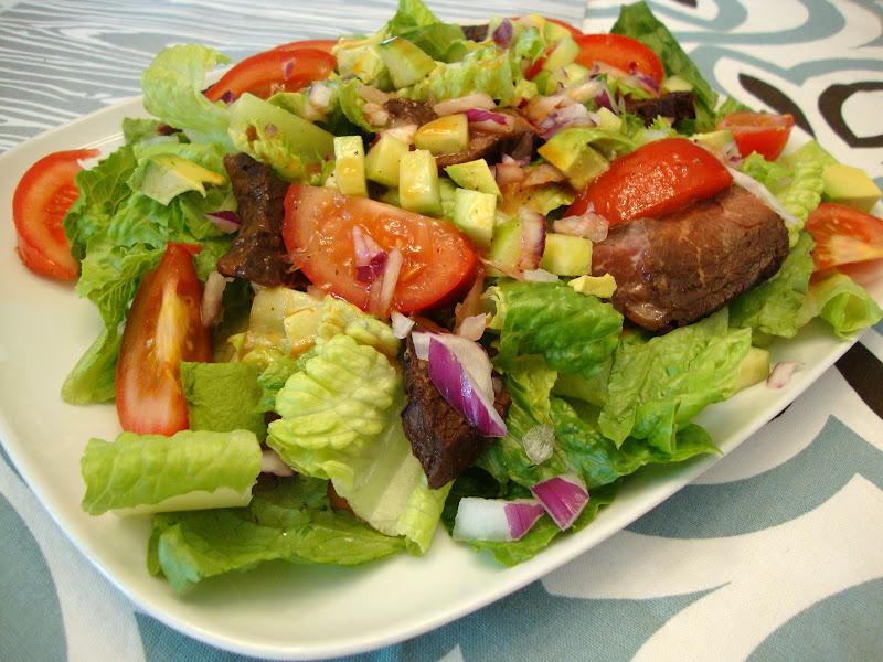 my back pages: southwestern steak salad