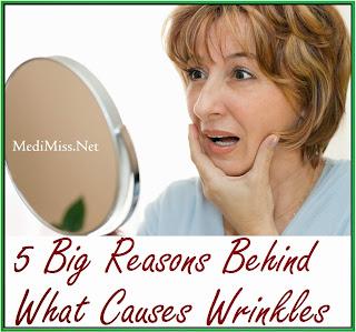 5 Big Reasons Behind What Causes Wrinkles