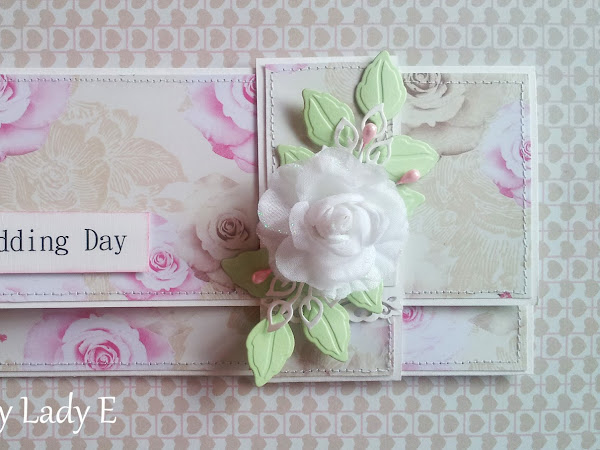 Envelope Shaped Wedding Card / Kopertówka ślubna