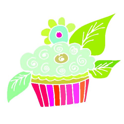 Dibujos de cupcakes para imprimir-Imagenes y dibujos para imprimir