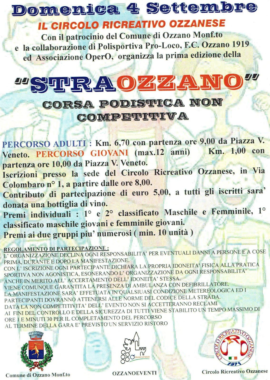 Ozzano Monferrato 4 settembre
