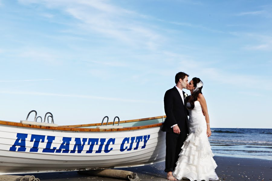 Destination Wedding Atlantic City A Modern Beach