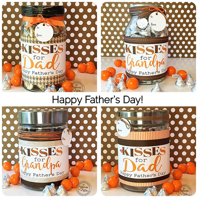 Kisses for Dad and Grandpa  Father's Day Gift Ideas