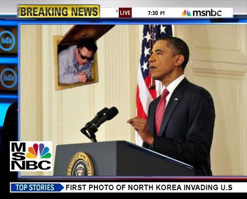 First Photo Of North Korea Invading USA.