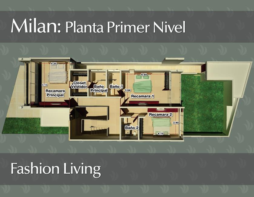 Baños En Planta Arquitectonica:de Casas y Plantas Arquitectónicas de Casas y Departamentos: Plantas