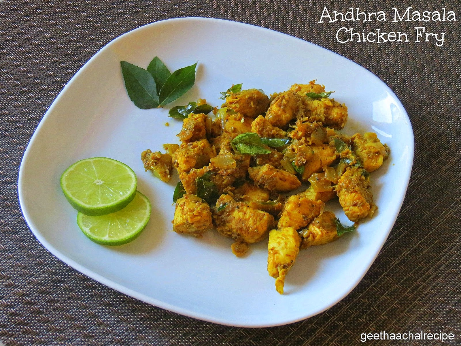 ... ப்ரை - Andhra Masala Chicken Fry Recipe - Chicken Recipe