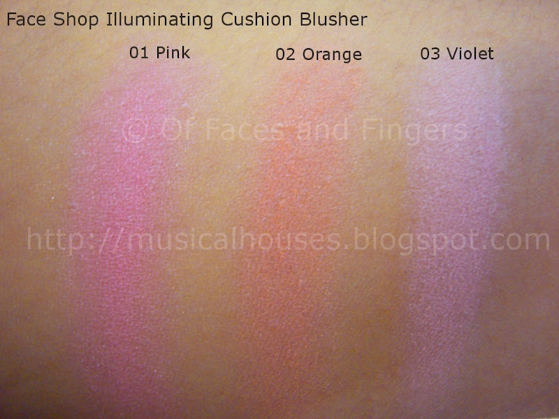 Face Shop Illuminating Cushion Blusher