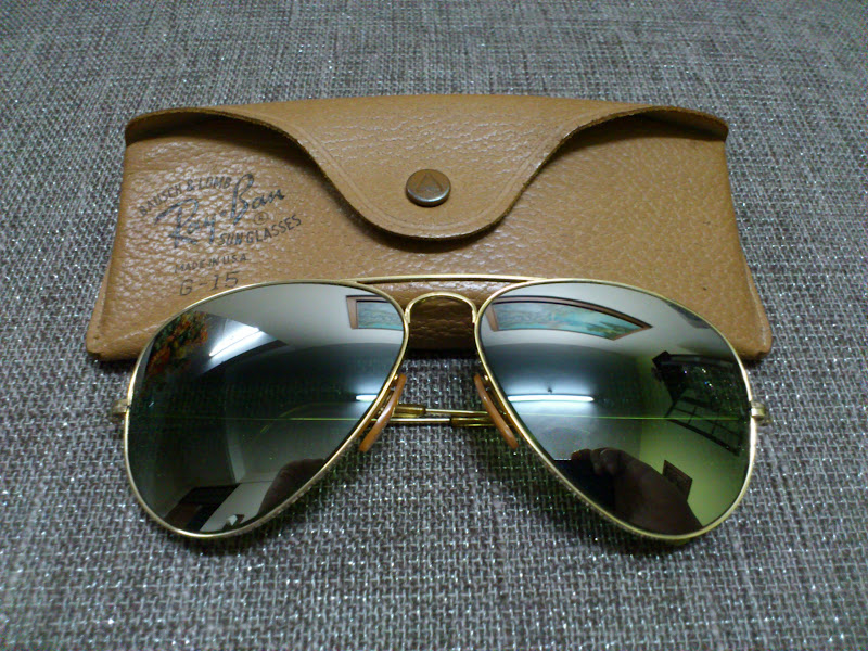 Vintage Bausch Amp Lomb Rayban Sunglasses SOLD1960 Ray