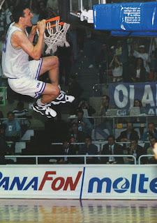 Pep Cargol, final Euroliga 1995