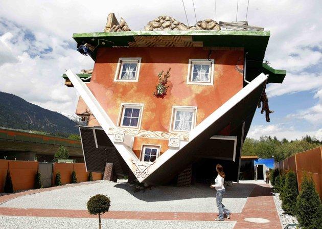 Curiosita 39 di ogni genere in austria costruita casa al contrario - Casa al contrario ...