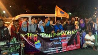 Peduli Dhuafa, PMII Jawa Timur Gelar Sahur On The Road
