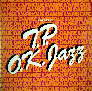 Orchestre T.P. O.K. Jazz - l'Afrique Danse,african 360.132, 1979