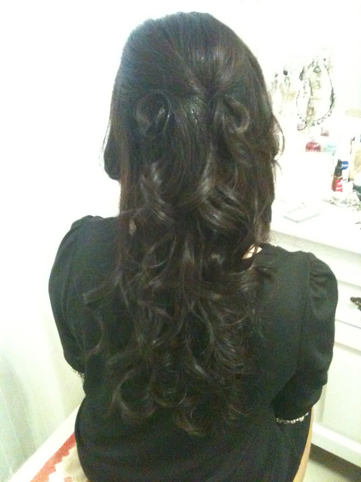 Dinner Hairdo Long Hair 63