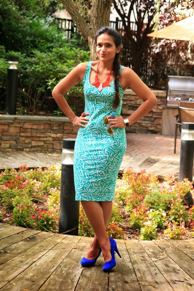 Indian Flag Colors, Independence Day, Asos Pencil Dress, Steve Madden Suede Pumps, Tanvii.com