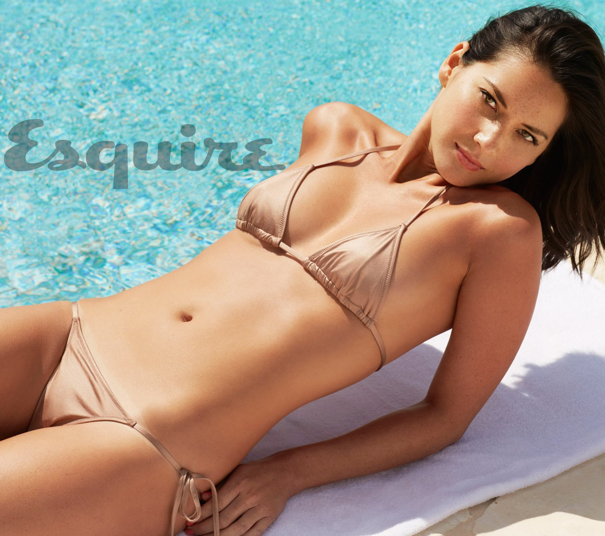 Olivia Munn Sexy Bikini Pictures For Esquire Magazine June/july 2013